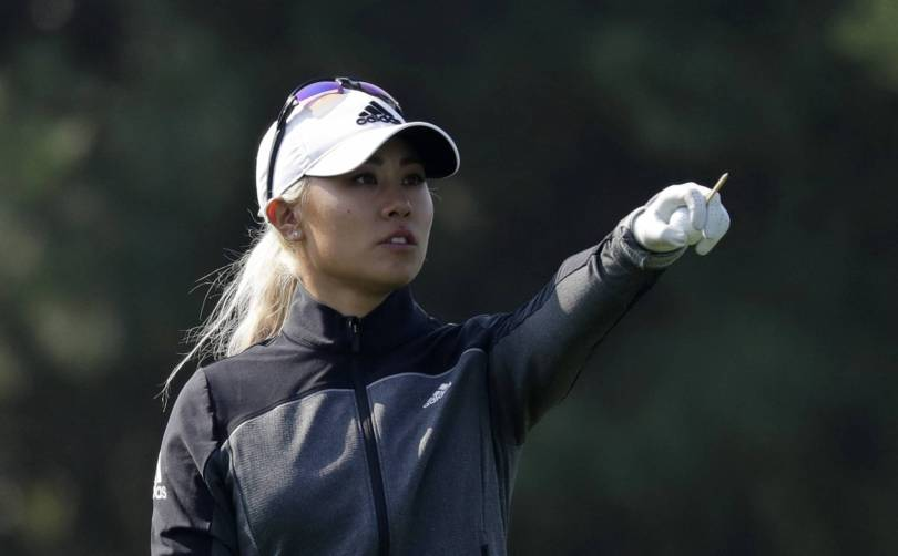 South Korea Golf LPGA Tour 73661 - Kang, Hull keep one-shot lead at KEB Hana Bank Championship