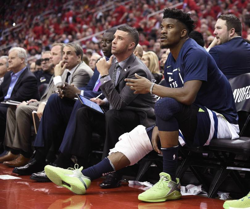 Timberwolves Preview Basketball 45083 - Butler misses T-Wolves shootaround amid trade-demand drama