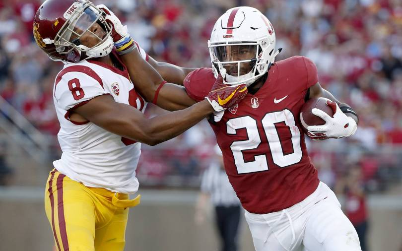APTOPIX USC Stanford Football 79162 - No. 9 Stanford faces UC Davis without RB Bryce Love