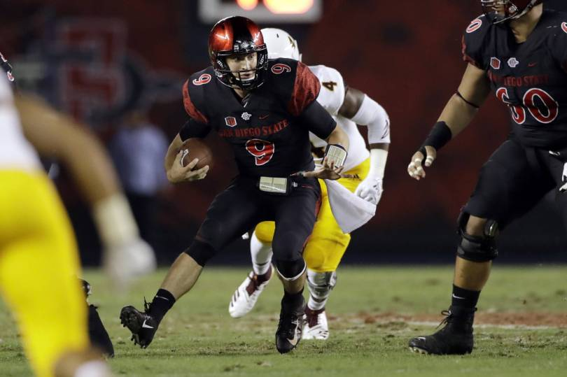 Arizona St San Diego St Football 42104 - Agnew, Washington lead SDSU to upset of No. 23 ASU, 28-21