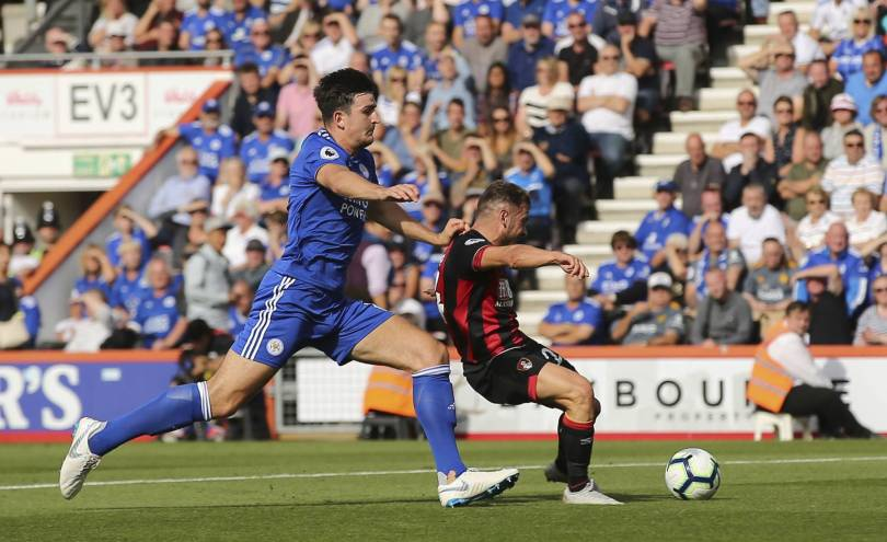Britain Soccer Premier League 90333 - Fraser double inspires Bournemouth to 4-2 win over Leicester