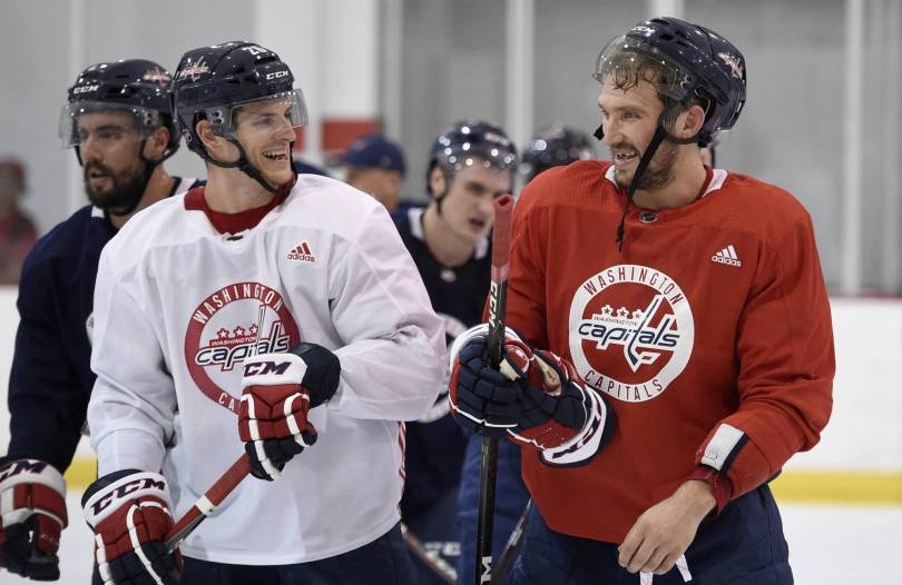 Capitals Camp Hockey 37978 - Defending champion Capitals have almost no camp competition