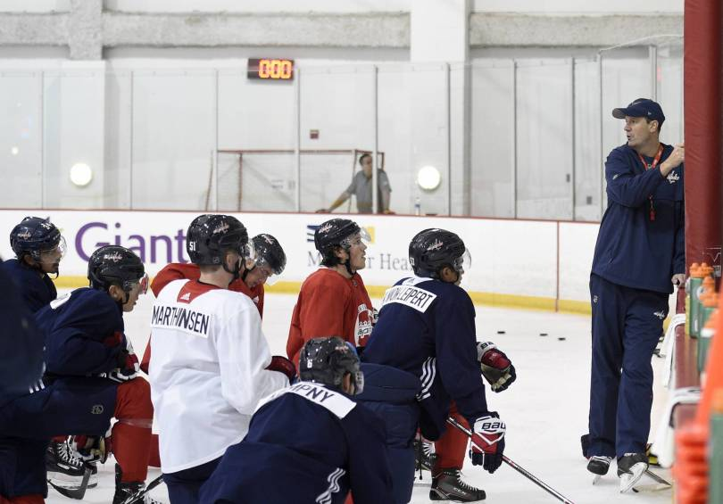Capitals Camp Hockey 87285 - NHL clears Capitals on trading, signing Orpik after buyout
