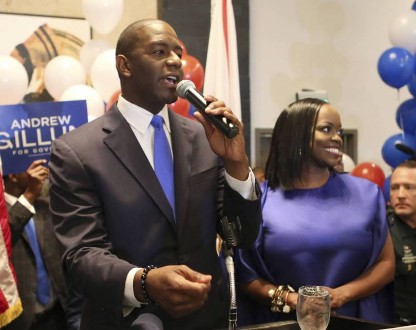 Election 2018 Governors Black Candidates 96950 - Black governor nominees become stars in bid for history