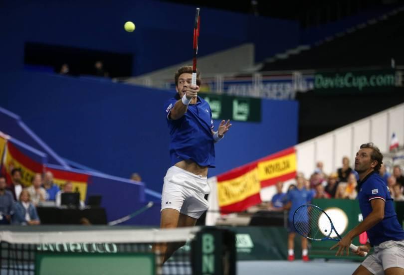 France Tennis Davis Cup 41487 - Defending champion France advances to Davis Cup final
