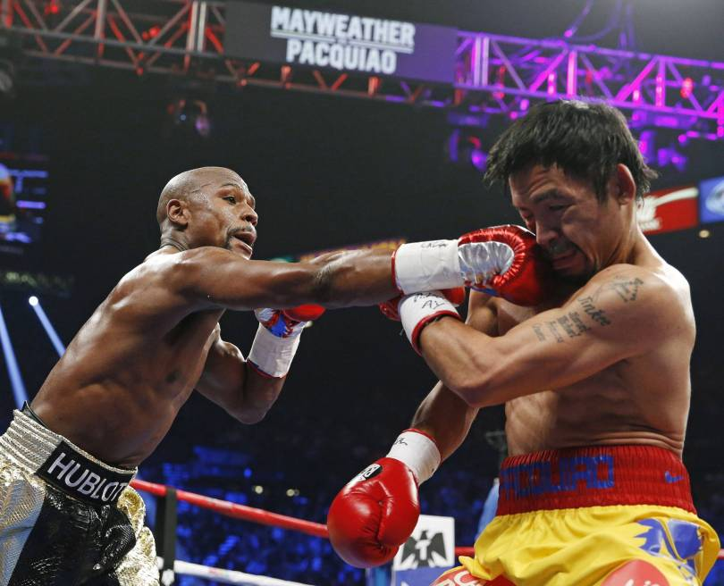 Mayweather Pacquiao Boxing 05967 - On again? Mayweather says he and Pacquiao will fight
