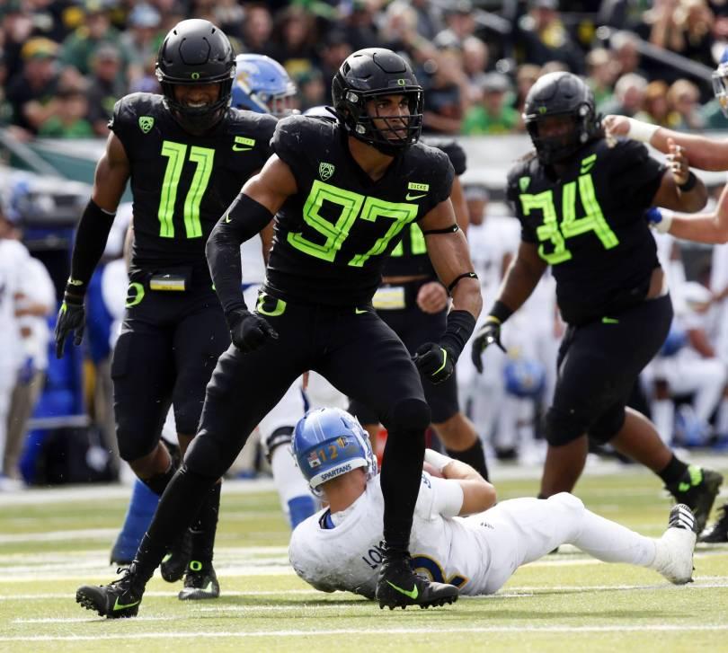 San Jose St Oregon Football 72004 - No. 20 Ducks dispatch San Jose State 35-22; Stanford up next