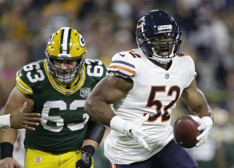Seahawks Bears Football 86098 - Mack off to good start, Bears try to rebound against Seattle