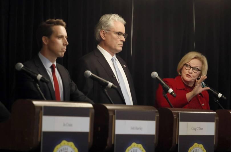 Senate Missouri Debate 91065 - Missouri Senate candidates square off in first debate