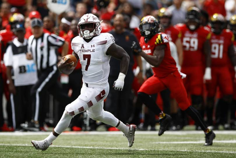 Temple Maryland Football 76653 - Temple rolls to 35-14 upset of previously unbeaten Maryland