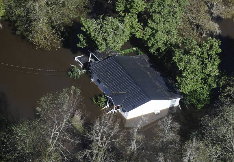 Tropical Weather Inland Flooding 55933 - Florence's deluge testing South Carolina infrastructure