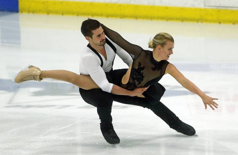 US International Figure Skating 38626 - US champs Hubbell-Donohue win rhythm dance at Classic