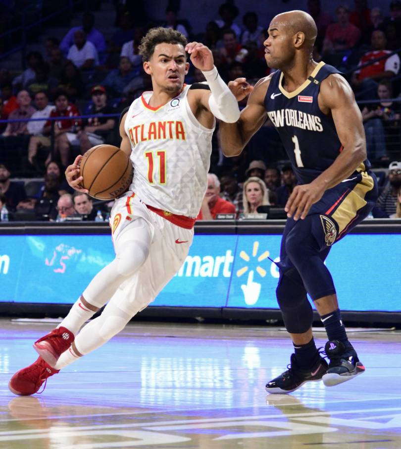 Trae Young Shows Why Rebuilding Hawks Could Be Fun To