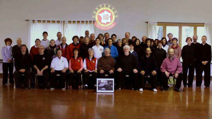 Photographie de groupe de la rencontre tuishou 2015