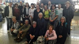 Photographie du groupe de la FECMC en partance pour le voyage en Chine 2017