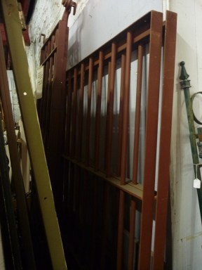 security / fence panels $350 each 1935w x 1960h salvage recycled demolition, secondhand, used, original, old, heritage, antique