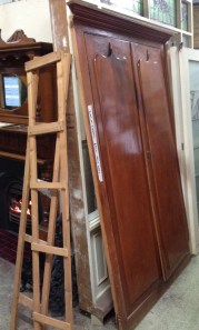 Built in cupboard with shield doors h2150 x w1310mm $220