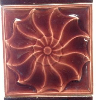 Original Victorian fireplace tiles $28