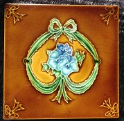 Fireplace tiles, original Victorian, 2 available $27.50 each