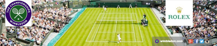 Wimbledon YouTube channel banner