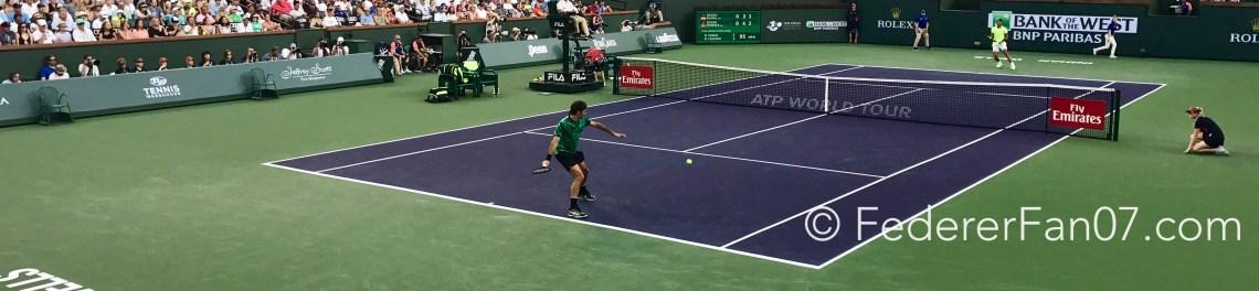 Federer Nadal 2017 BNP Paribas Open