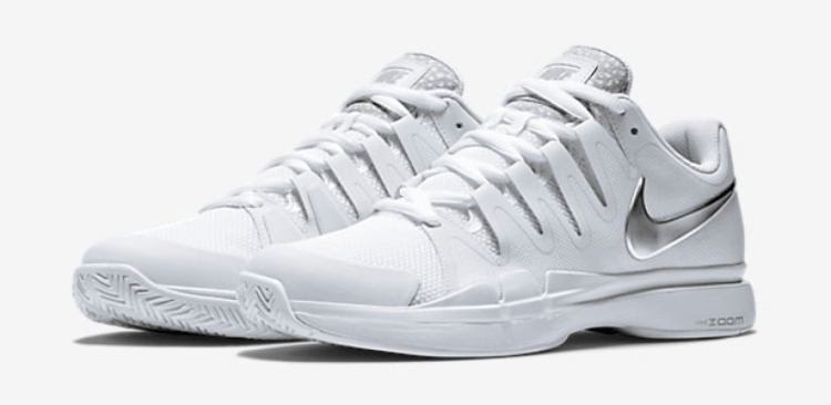 Roger Federer Wimbledon 2015 Nike Zoom Vapor 9.5 Tour Safari