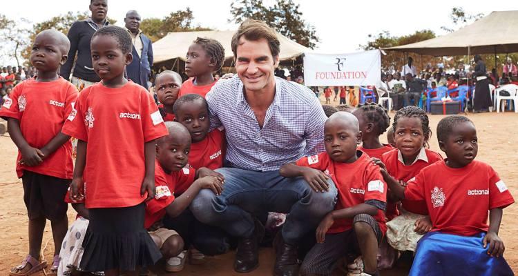 Roger Federer Malawi Roger Federer Foundation