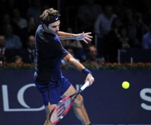 Roger Federer 2015 Swiss Indoors Basel