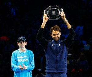 Roger Federer 2015 London Barclays ATP World Tour Finals