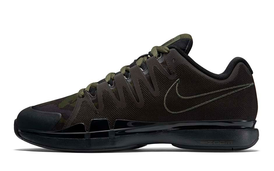 dc5fbfdc7308 Nike Zoom Vapor 9.5 Tour Safari Black Carbon Green-Anthracite-Alligator  812937-030  140. image2