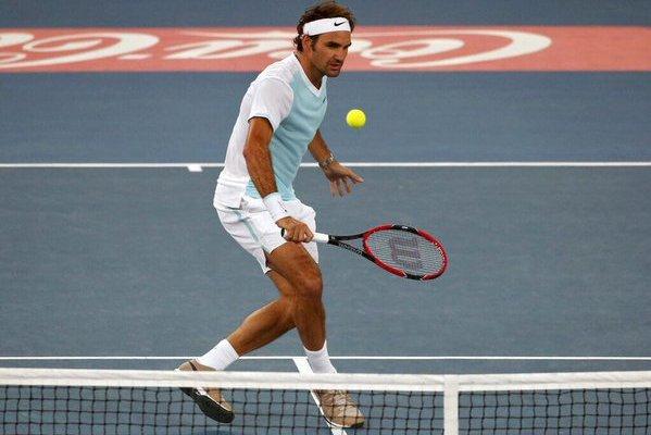 Roger Federer IPTL 2015