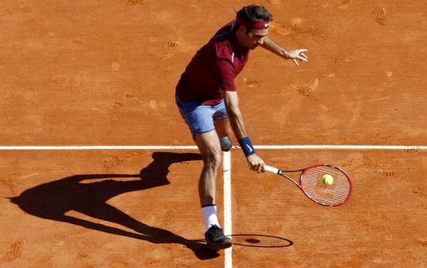 Roger Federer Monte Carlo Rolex Masters 2016