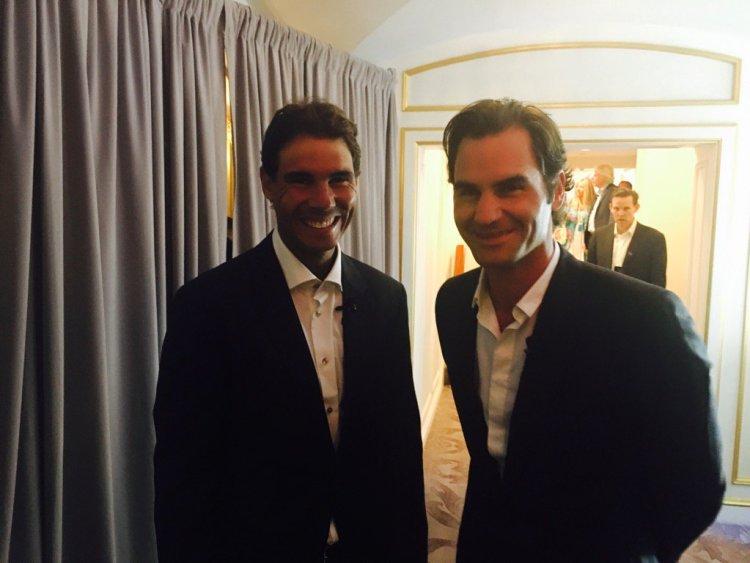Federer Nadal NYC Laver Cup