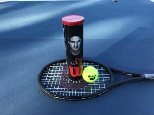 Roger Federer Legacy Tennis Ball