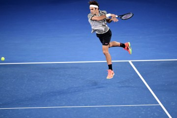 Federer Flies Past Berdych at Australian Open