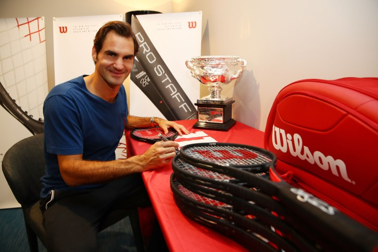 Wilson Releases 18 Limited Edition Pro Staff RF97 Autograph Rackets