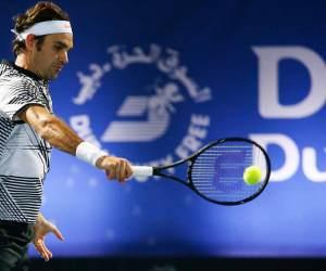 Roger Federer 2017 Dubai Duty Free Tennis Championships