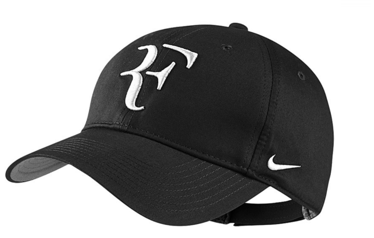 Roger Federer 2017 US Open Nike Outfit - NikeCourt RF US Open Hat Black