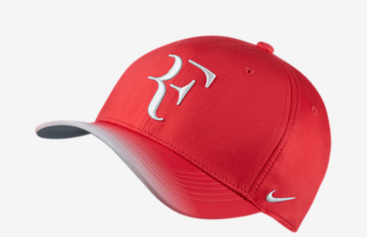 Roger Federer 2017 US Open Nike Outfit - NikeCourt RF US Open Hat Red
