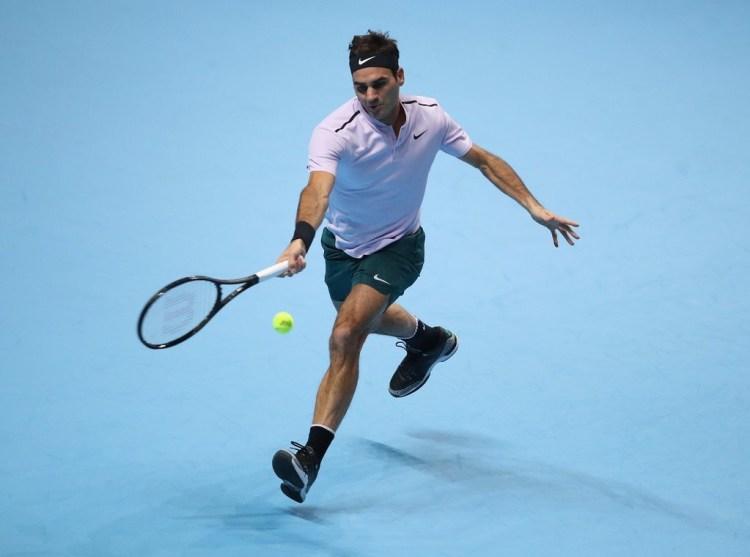 Roger Federer 2017 Nitto ATP Finals - Federer Wins ATP Finals Opener