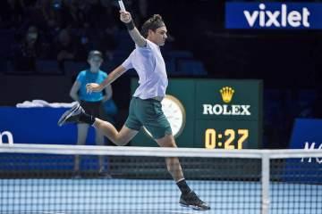 Roger Federer 2017 Nitto ATP Finals
