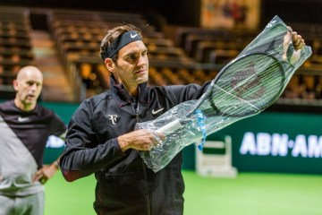Roger Federer 2018 Rotterdam Open - ABN AMRO World Tennis Tournament