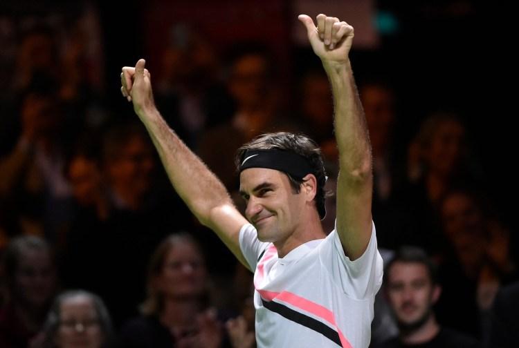 Roger Federer 2018 Rotterdam Open - ABN AMRO World Tennis Tournament - Federer Makes History in Return to World #1