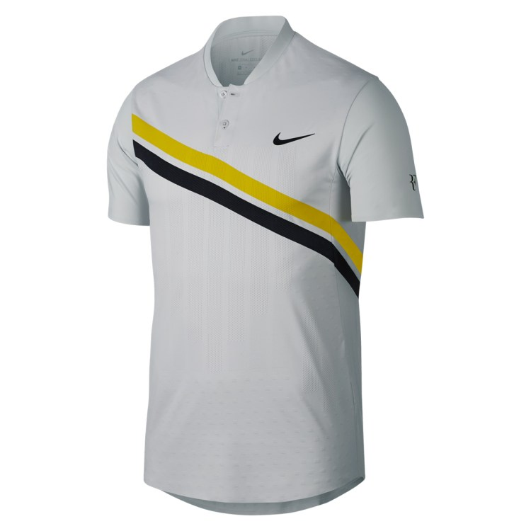 Roger Federer 2018 BNP Paribas Open Indian Wells Polo - Roger Federer 2018 Indian Wells Nike Outfit