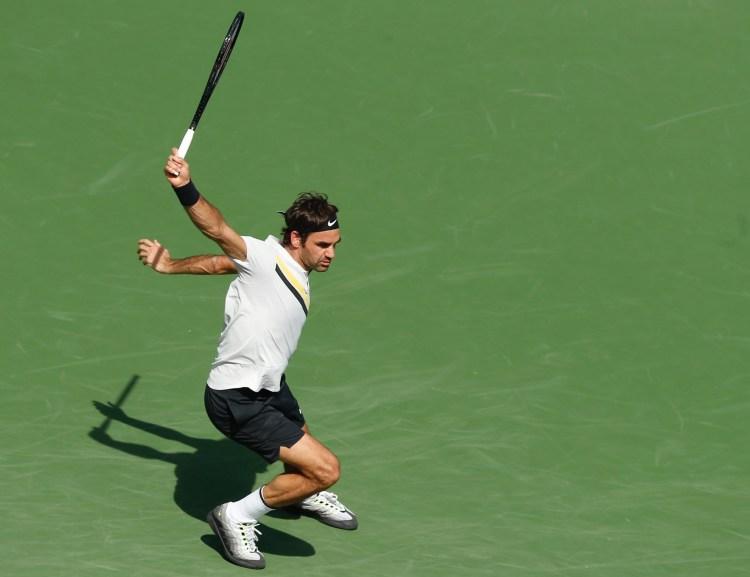 Roger Federer 2018 BNP Paribas Open (Indian Wells BNPPO18) - Federer Races into Fourth Round at BNP Paribas Open