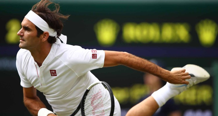 Sublime Serving Leads Federer into Wimbledon Third Round