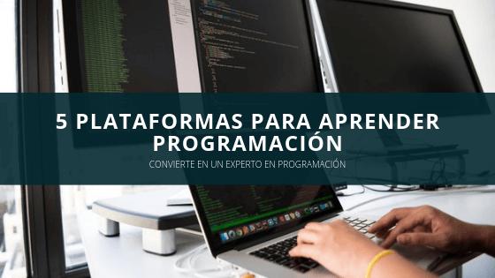 5 plataformas para aprender programación