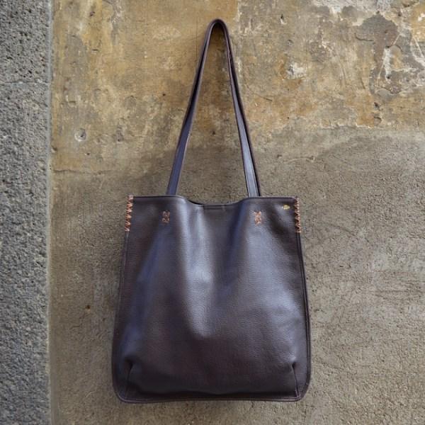 Dark Brown Orvieto Tote