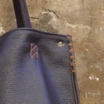 Dark Brown Orvieto Tote (Detail)