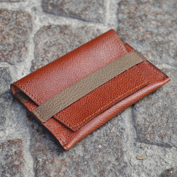 Rust & Beige Umbria Card Case